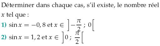 Déterminer si il existe un nombre réel : exercices en 1ère S.