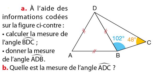 Le Triangle   Exercices De Maths 5 U00e8me  Cinqui U00e8me   U00e0 Imprimer Et T U00e9l U00e9charger En Pdf
