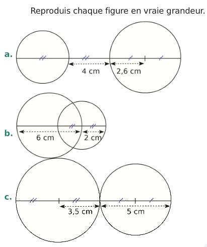 Télécharger Constructions de cercles 6ème Mathématiques PDF | rayon,droites,exercices corrigés ...