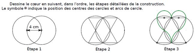 Dessiner ces figures et programme de construction : exercices en CM2.