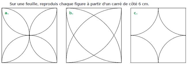 Tracer des figures géométriques : exercices en CM1.