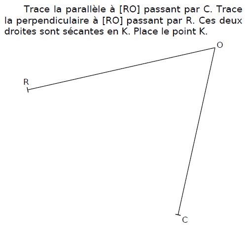 Tracer la parallèle : exercices en CM2.