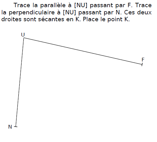 Tracer des droites parallèles : exercices en CM2.