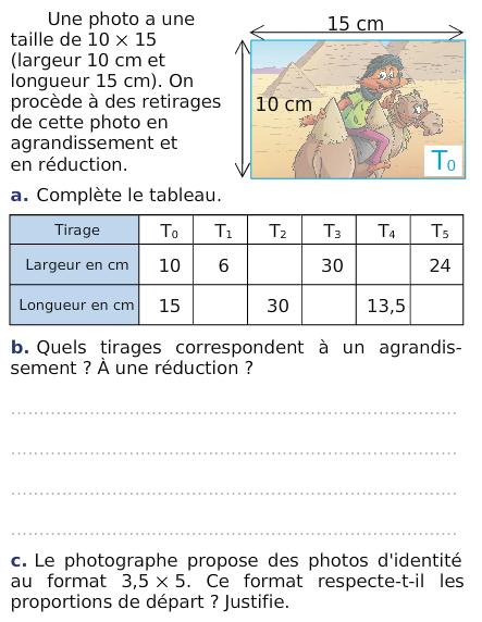 La Proportionnalite Exercices De Maths 6eme Sixieme A Imprimer Et Telecharger En Pdf