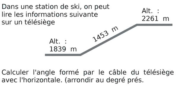 Extrait du brevet de maths : exercices en 3ème.