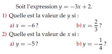 Calculer la valeur de x et y : exercices en 2de.