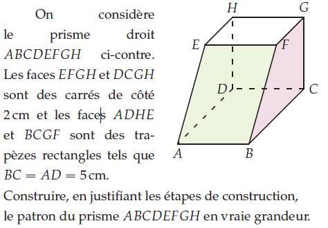 Geometrie Dans L Espace Exercices De Maths 2de Seconde A Imprimer Et Telecharger En Pdf