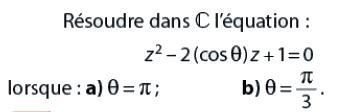 Nombres complexes et trigonométrie : exercices en terminale S.
