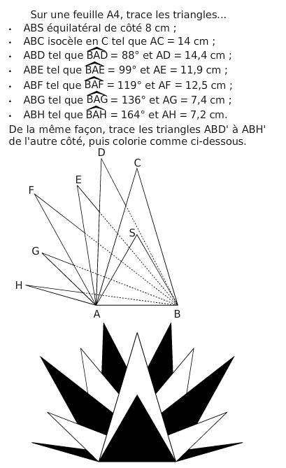 Tracer les différents triangles : exercices en 6ème.