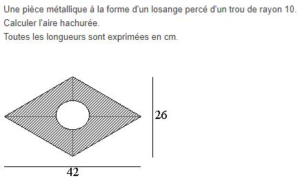 Aires et p rim tres exercices de maths 5 me cinqui me for Calcul chauffage d une piece