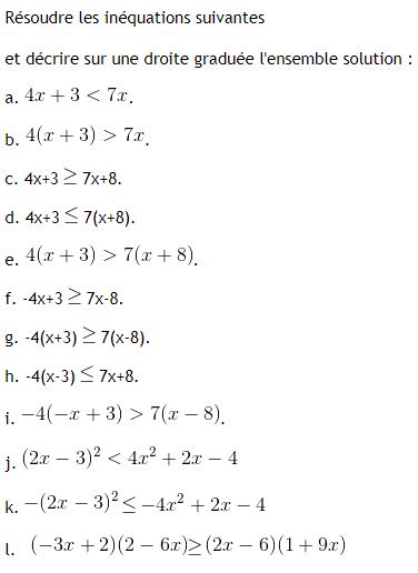 Les quations et in quations exercices de maths 3 me troisi me imprimer et t l charger en pdf - A portee de maths cm2 en ligne ...
