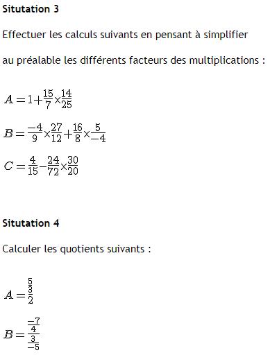 Télécharger Exercice de maths avec des fractions 4ème ...