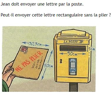Envoi d'une lettre par la poste : exercices en 4ème.