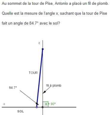 Géographie,maths et somme des angles d'un triangle : exercices en 5ème.