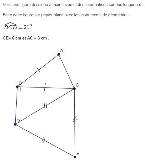 Polygones Et Constructions Exercices De Maths 6eme Sixieme A Imprimer Et Telecharger En Pdf