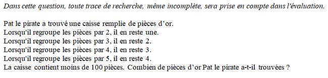 Arithmétique : exercices en 3ème.