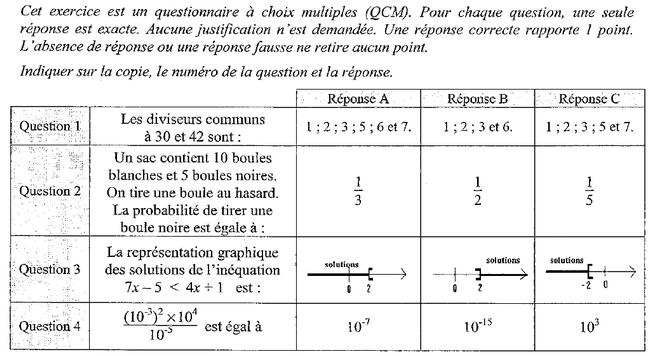 Exercice de maths sur les multiples. 3ème Mathématiques