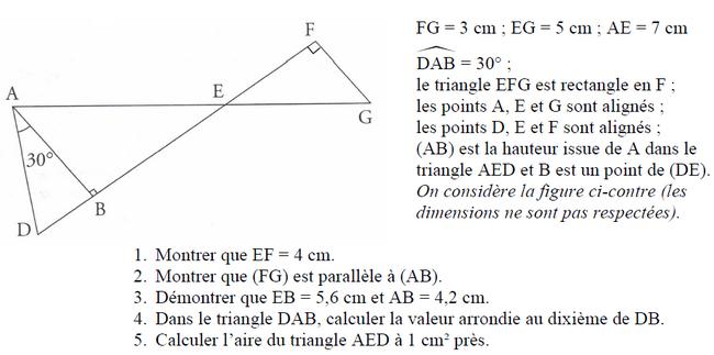 Brevet de maths 2019 : exercices de maths 3ème (troisième ...