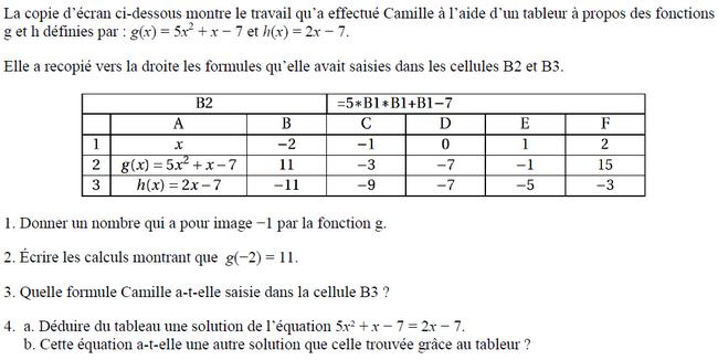 Devoir Maison Math 3eme Equation | Ventana Blog