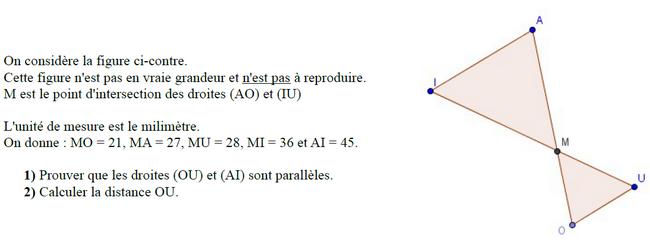 theoreme de thales exercice pdf