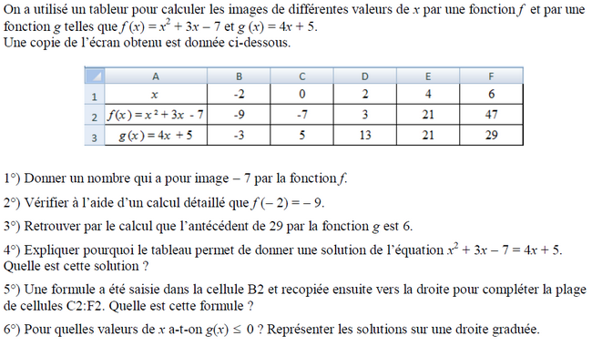 1ab1bcee697 Brevet de maths 2019   exercices de maths 3ème (troisième) à ...