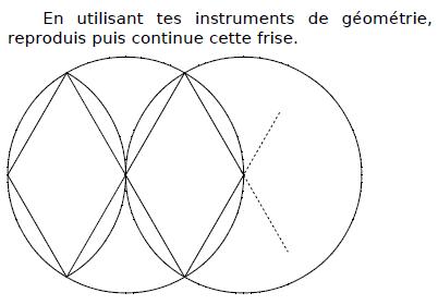 Instruments de géométrie et construction : exercices en CM2.