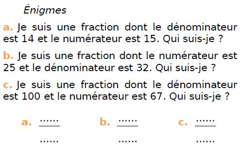 Problèmes à résoudre : exercices en CM1.