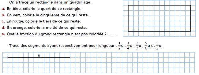 Tracer des segments : exercices en CM2.
