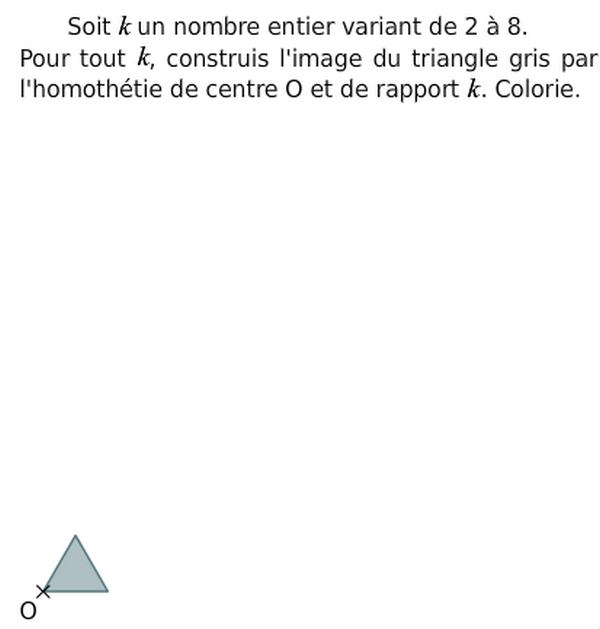 Construire l'image d'un triangle : exercices en 3ème.
