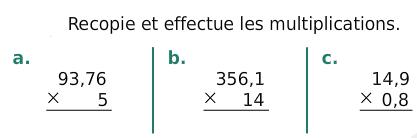 Les Operations Exercices De Maths 6eme Sixieme A Imprimer Et Telecharger En Pdf