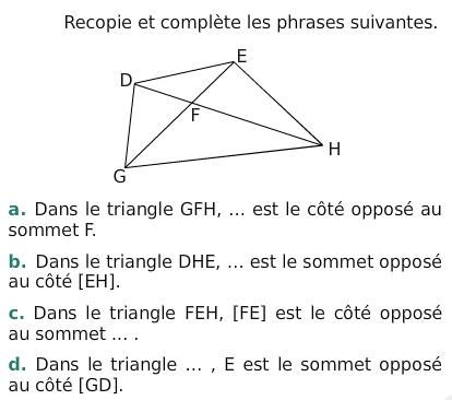 Polygones et constructions : exercices de maths 6ème ...