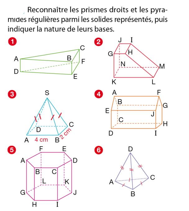 Les Solides Et Les Volumes Exercices De Maths 5eme Cinquieme A Imprimer Et Telecharger En Pdf