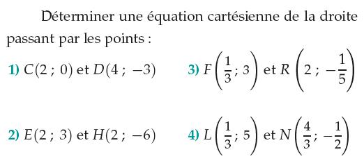 Vecteurs Et Droites Du Plan Exercices De Maths 1ere S Premiere S A Imprimer Et Telecharger En Pdf