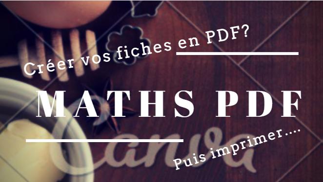 Exercices et cours de maths pdf