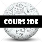 Cours de maths en 2de à imprimer en PDF en seconde