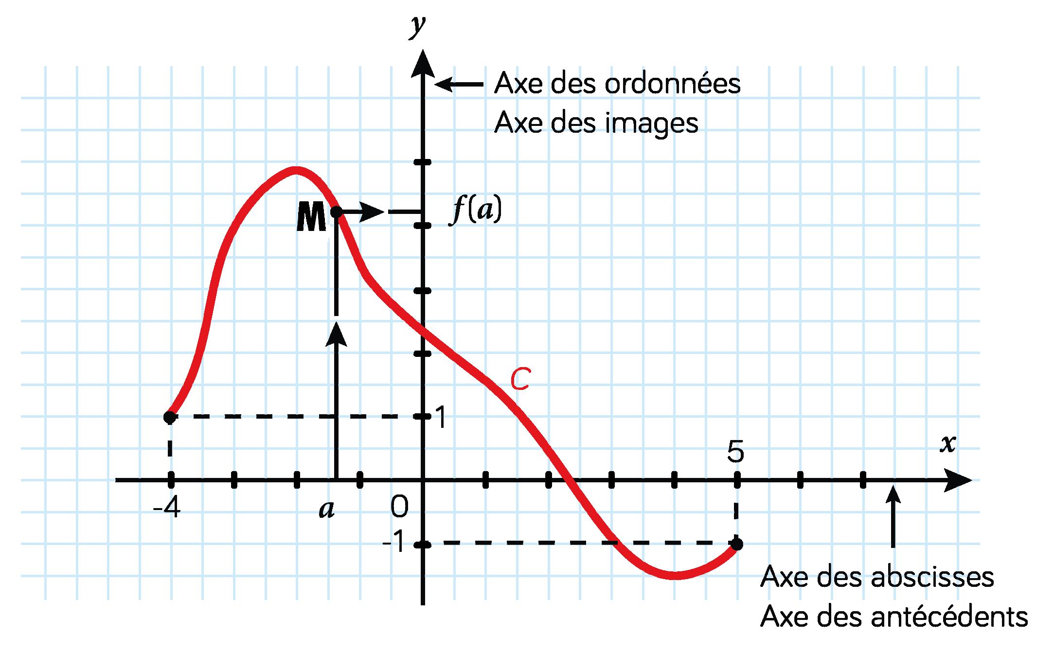 courbe représentative fonction