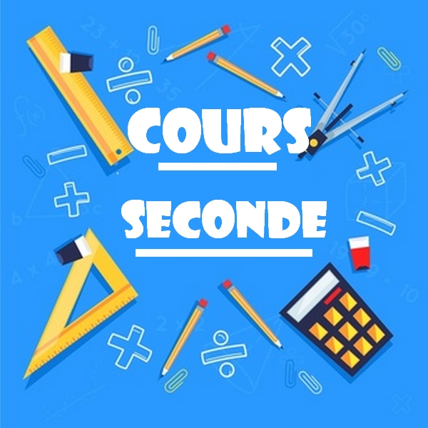 cours seconde