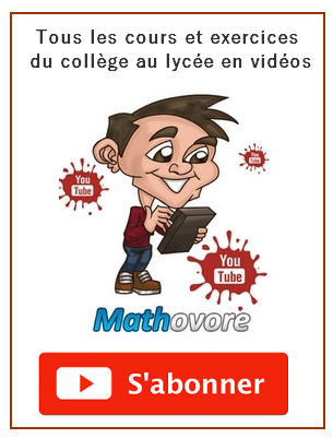 vidéos maths youtube