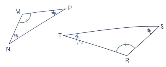 triangles semblables cours maths 1