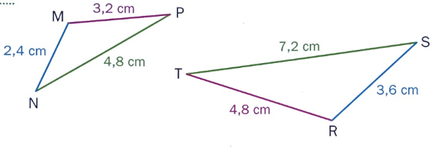 triangles semblables cours maths 2