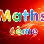 Maths 6ème : cours et exercices corrigés en PDF.
