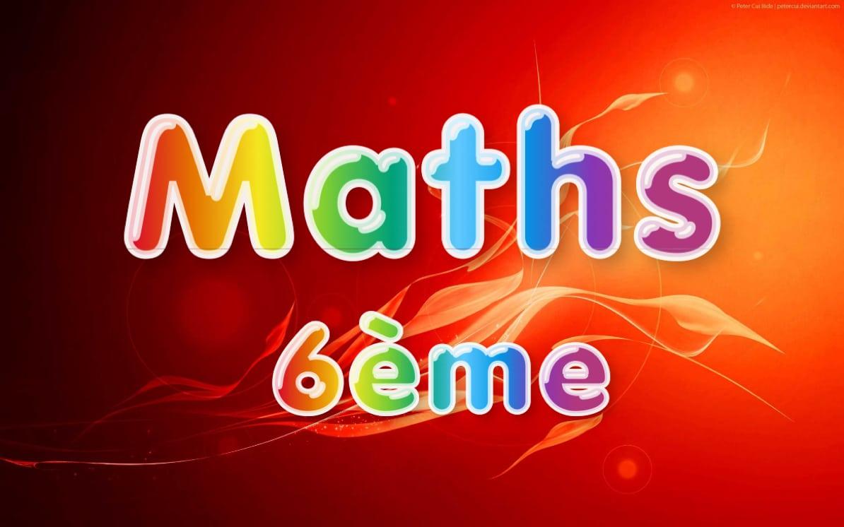 maths 6eme