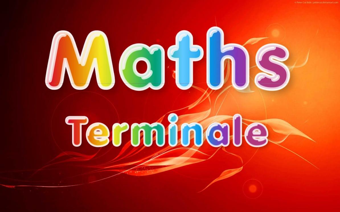 maths terminale